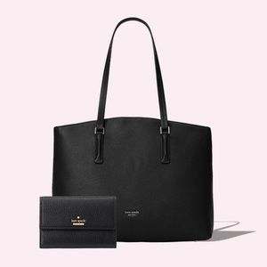 NEW!💖Kate Spade New York Large Tote and Wallet💖